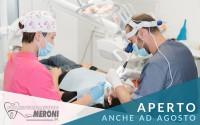 Studio dentistico aperto ad agosto, rivolgiti a noi per le tue urgenze estive in provincia di Como