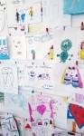 I disegni dei bambini presso lo studio dentistico Polispecialistico Meroni