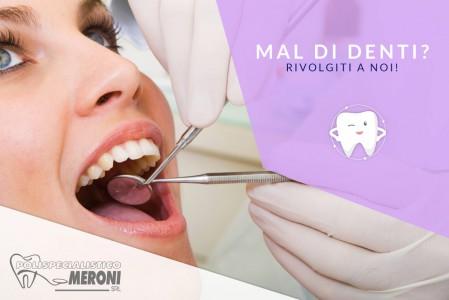 Mal di denti: cause e rimedi spiegati dai dentisti del Polispecialistico di Cantù