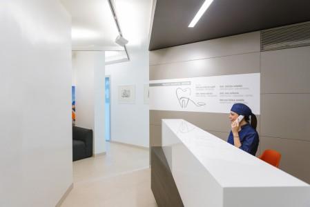 Struttura interna studio dentistico Como Polispecialistico Como