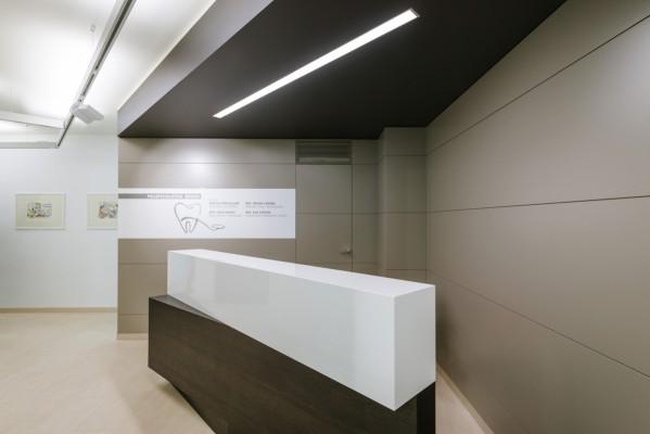 Reception studio dentistico Cantù Polispecialistico Meroni