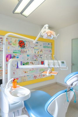 Sala odontoiatria infantile studio dentista Como Polispecialistico Meroni